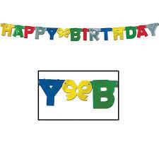 Beistle Foil Happy Birthday Streamer 34689550372 Ebay