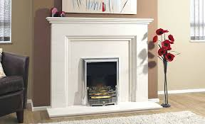 how to install a marble fireplace surround a traditional gas fire installed in a limestone fireplace