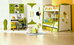 kids study furniture. Kids Bedroom Furniture Sets In Green And Yellow Theme With Bunk Bed Study Desk Also Stand