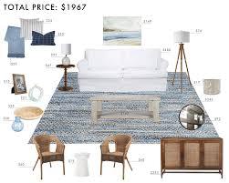casual living room. Budget Room Design: East Coast Casual Living
