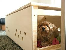 modern dog furniture. Modern Dog Crate Coffee Table Furniture
