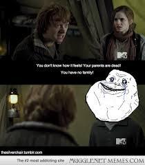 Too Far Ron. - MuggleNet Memes via Relatably.com