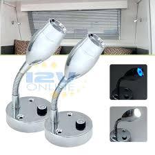 12 volt ceiling light set of 2 volt led reading lights with blue lamp 12 volt