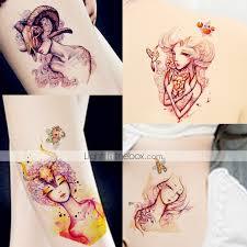 12ks Tetování Dvanáct Souhvězdí štír Střelec Obraz Vzory Pro ženy