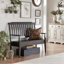 Eleanor Slat Back Wood Storage Bench by iNSPIRE Q Classic - Free Shipping  Today - Overstock.com - 20163738