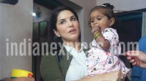 sunny leone sunny leone daughter sunny leone adopted daughter sunny adopted daughter name