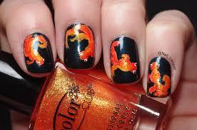 Goldfish nail art - Nail Lacquer UK