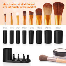 makeup brush cleaner and dryer cosmetic brush cleaning tool for all size makeup brushes wash and dry in seconds
