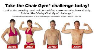 chair gym. check out these before and after photos chair gym t