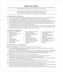 Business Analyst Sample Resume Page 1 Analysis Document Templates ...