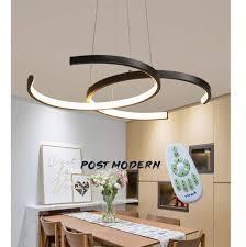 Led Pendelleuchte Esstisch Hängeleuchte 38w Dimmbar Mit Fernbedienung Pendellampe Modern Landhaus Stil Acryl Lampenschirm Design Kronleuchter Für