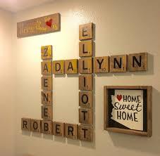 Scrabble Names Wall Art Serenity Prayer Wall Art