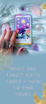 The basic symbols of this card are seven or eight stars, a pool of water, a kneeling woman (one foot in the water, the other on land), and two urns. What Are Tarot Birth Cards How To Find Yours