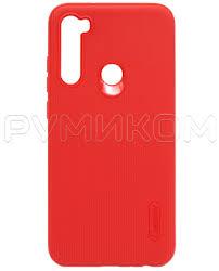 Купить <b>Силиконовый бампер Cherry для</b> Redmi Note 8 (красный ...