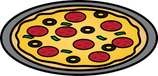 whole pizza clipart. Exellent Clipart Pizza On A Pan With Whole Clipart O