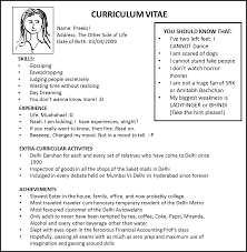 Make Own Resume Resume Work Template