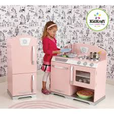 Kid Craft Retro Kitchen Kidkraft 2 Piece Retro Kitchen And Refrigerator Set Reviews