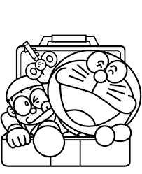 Laughing doraemon rofl coloring page. Coloring Doraemon Pages Free Japanese Colouring Online Coloring Pages
