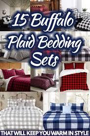 15 buffalo plaid bedding sets that will