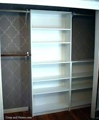 billy bookcase closet custom ikea ers doors bil