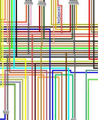 suzuki sv1000 large a3 laminated colour wiring loom diagrams suzuki sv1000 k5 k6 usa spec colour wiring diagram