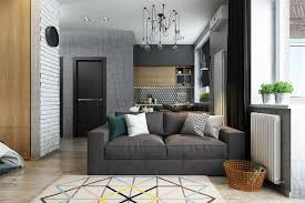Of Living Rooms With Interior Designs Small Home Designs Under 50 Square Meters