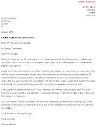 Are Cover Letter Necessary Energy Consultant Cover Letter Example Icover Org Uk