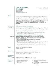 Resume Examples Nursing Extraordinary Nurse Resumes Examples Resume Nurse Sample Pattern Nursing Resumes