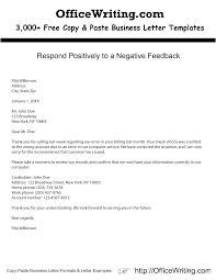 Sample Formal Business Letter Template Copy Formal Letter Template ...