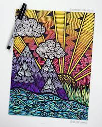 Pattern Drawing Awesome Learn How To Create Zentangle Art A Meditative Form Of Drawing