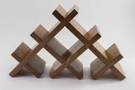 tabletop butterfly wine rack – rockford woodcrafts