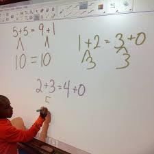 how i taught true false equations first grade