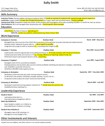 How I Prepared My Student Resume For A Career In