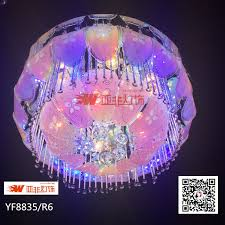 china colour changing rgb crystal glass led ceiling chandelier for home decoration yf8835 r6 china chandelier chandeliers