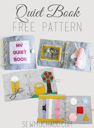 Quiet Book Patterns Unique 48 Adorable Free Quiet Book Patterns And Templates Sew Much Ado
