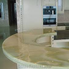 verde afghanistan light green onyx countertop