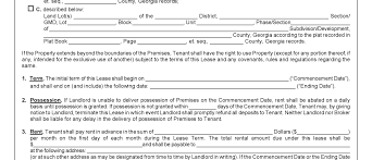 Lease Agreement Form Pdf Commercial Lease Agreement Free Complete Guide Example 8