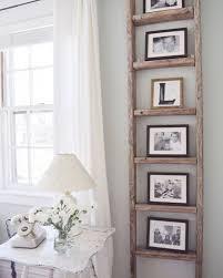 Rustic Ladder Photo Rack Ideas