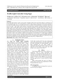 Traffic Light Controller Using Verilog Code Traffic Light Controller Using Fpga By Ijera Editor Issuu
