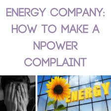 Complaint Letters To Companies Magnificent Energy Company How To Make A Npower Complaint Mrsmummypennycouk