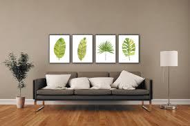 Palm Tree Decor For Living Room Banana Decor Etsy