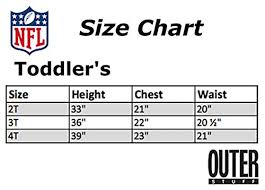 Zhats Size Chart Nfl By Outerstuff Toddler Team Flatbrim Snapback Hat