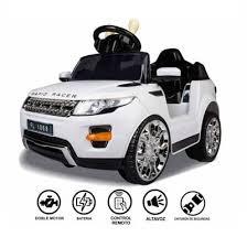 Coche eléctrico para niños de 1 a 4 años – Land Rover 6V con Mando a