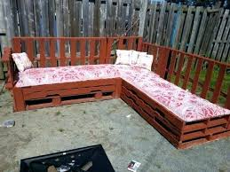 diy outdoor pallet sectional. Contemporary Diy Outdoor Sofa Made From Pallets Furniture Sofas And Coffee   Pallet  To Diy Outdoor Pallet Sectional