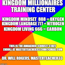 Image result for kingdom millionaires training center masterteacher33