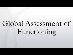 Global Assessment Of Functioning
