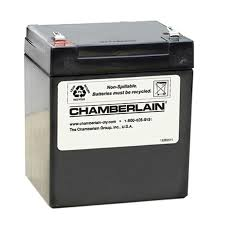 chamberlain garage door battery