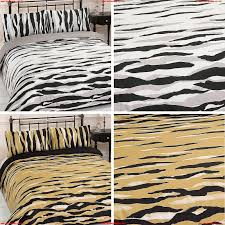 duvet cover with pillowcase bedding set kato gold black white single double king tisnhqpr