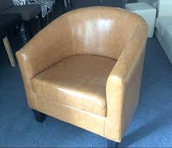 visions furniture. New Visions Furniture Contemporary Accent Wooden Frame Leather Fabric Sofa Club Tub Chair Living Room N