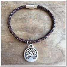 single wrap leather bracelet 100 leather with magnetic locking closure